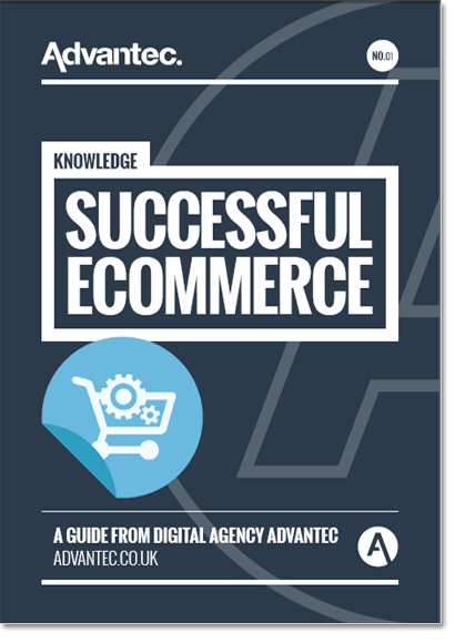 The cover of the Successful Ecommerce Guide publication